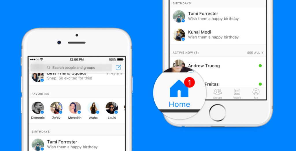 Unternehmen im Messenger: Facebook legt Grundstein mit neuer Inbox