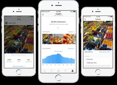 Instagram Accounts für Unternehmen: Alle Details aus der offiziellen Ankündigung