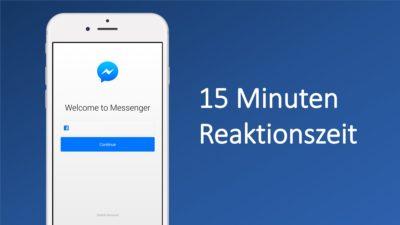 Unter 15 Minuten Reaktionszeit: so schnell wünschen sich Kunden den Support auf Facebook