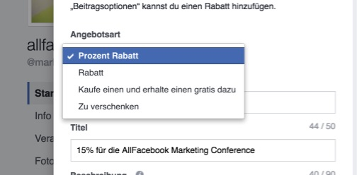 facebook-angebot-arten