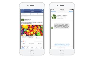 Neu: Facebook Messenger (Bots) als Ziel von Facebook Anzeigen
