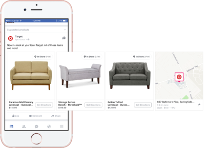 Neu: Facebook Dynamic Ads für Produkte im Einzelhandel einstellen