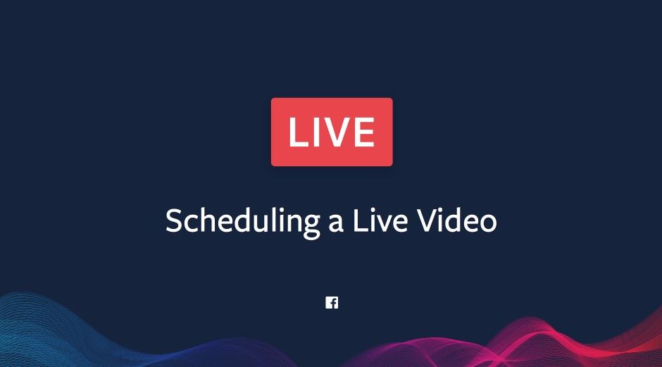 Neu: So können Facebook Live Videos eingeplant werden