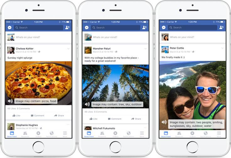 Ein kleiner Einblick in Facebooks Bilderkennungsmöglichkeiten