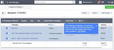 Tutorial: Die neuen automatisierten Regeln für eure Facebook Kampagnen erstellen