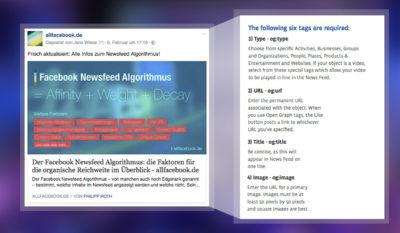 OG Tags optimieren – Tipps und Tricks für bessere Webseiten Vorschau auf Facebook