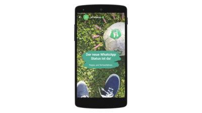 WhatsApp Status: Die Details zum neuen zentralen WhatsApp Feature