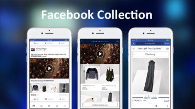 Facebook Collection: Neues Anzeigenformat für den Produktverkauf