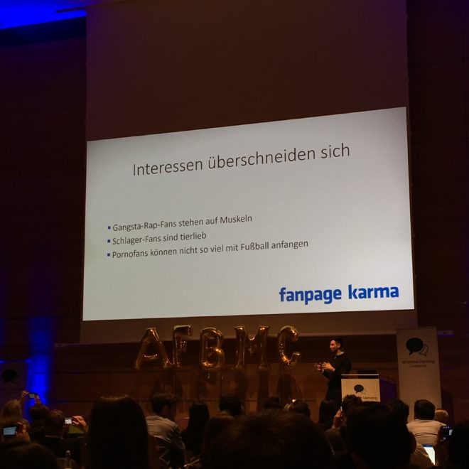 Allfacebook Marketing Conference 2017 in München #AFBMC #Fanpagekarma