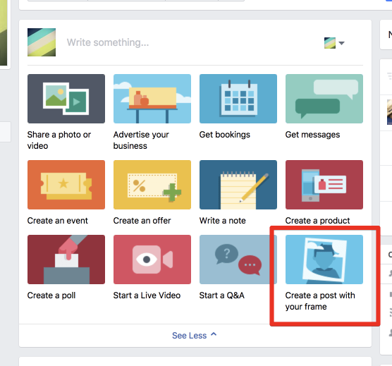 Facebook Rahmen Selbst Erstellen