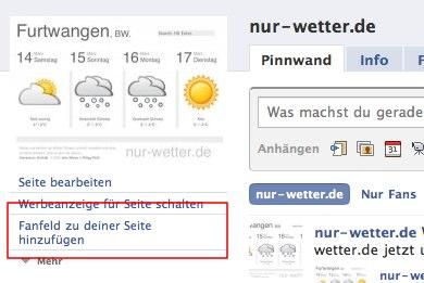 """""""Fan Box"""" Widget bringt Facebook auf die eigene Seite"""