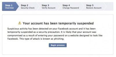 *Entführte* Facebook Konten einfacher wieder befreien
