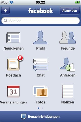 Facebook 3.0 für iPhone und iPod touch erschienen