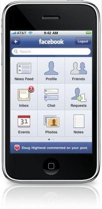 Facebook for iPhone App kurz vor Veröffentlichung