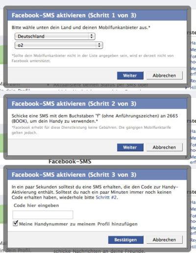 Kostenloser o2-Facebook Service