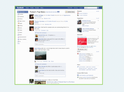 Facebook Homepage Redesign: Internes PDF zur Neugestaltung