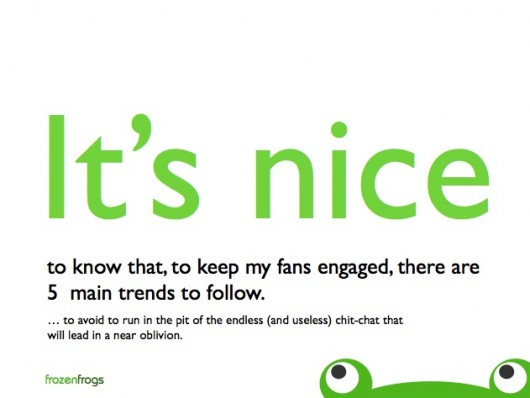 Engagement Trends (Quelle: Frozenfrogs)