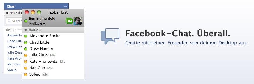 Der Facebook-Chat – und warum Facebook diesen so pusht.