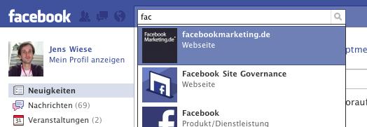 Facebook Keyword SEO – Pro und Contra
