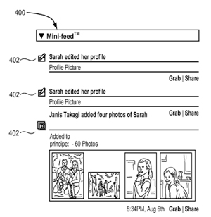 Facebook Patent Icon