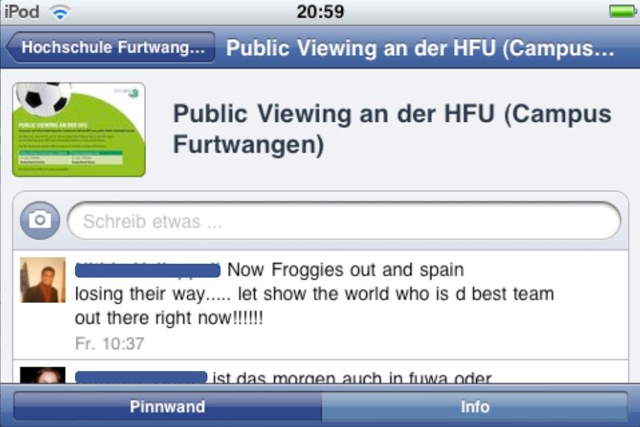 Neue Facebook iPhone-App Version