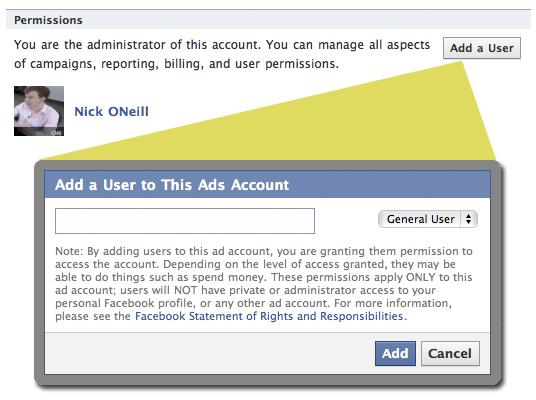 Facebook Ads Kampagnen mit mehreren Nutzer verwalten