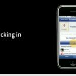 "Facebook Places ""Checking In"" auf dem iPhone"