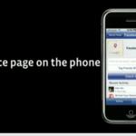 Facebook Places Page auf dem iPhone