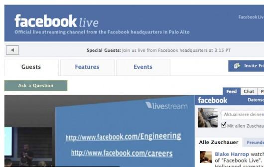 Facebook Live Application