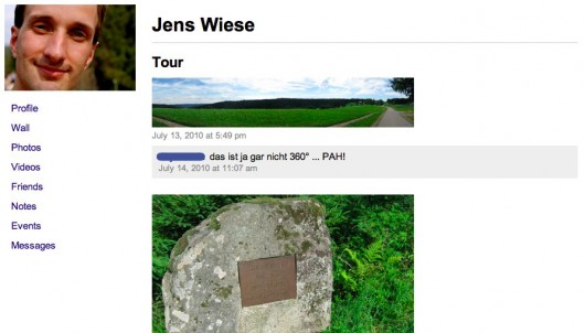 Facebook Fotoalben offline durchsuchen
