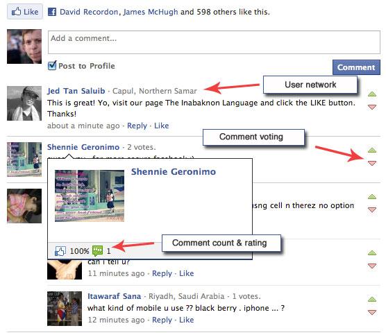 Social Plugins – Neue Features für das Facebook Kommentarmodul