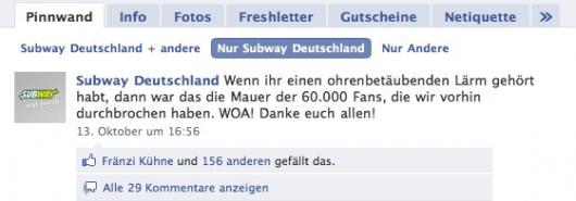 60.000 Subway Fans