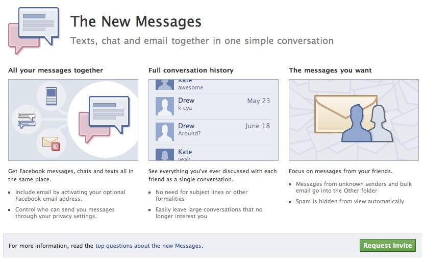 @Facebook.com E-Mailadresse jetzt beantragen