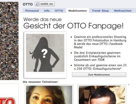 Otto Facebook Seite