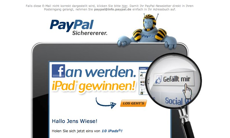 Otto, Paypal, Skittles, Nuggets vs. Knicks, Billa, Amazon – 6 Facebook Kampagnen (2)