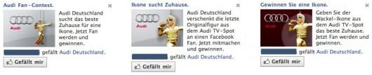 Audi Engagement Ads
