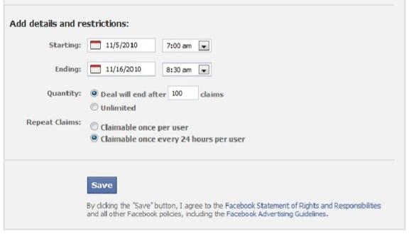 Tutorial: Facebook Deal/Facebook Angebot erstellen