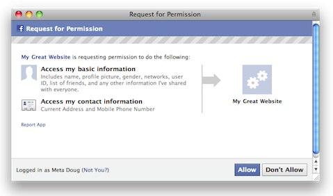 Facebook Permissions: Auf welche Daten eine Anwendung zugreifen kann
