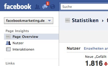 Update der Facebook Insights
