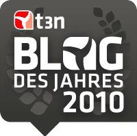 Wir sind Blog des Jahres 2010 – Danke