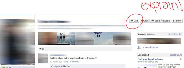 Facebook testet Voice- oder Videochat