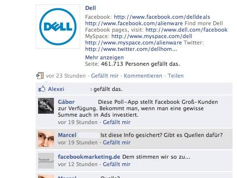 Schutz vor Spam: Facebook stellt einzelne Kommentare von Nutzern in Grau dar