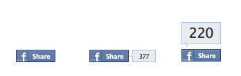 Aus Share wird Like. Facebook lässt den Share-Button langsam auslaufen…