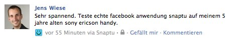 Facebook kauft Snaptu – Wir testen es!