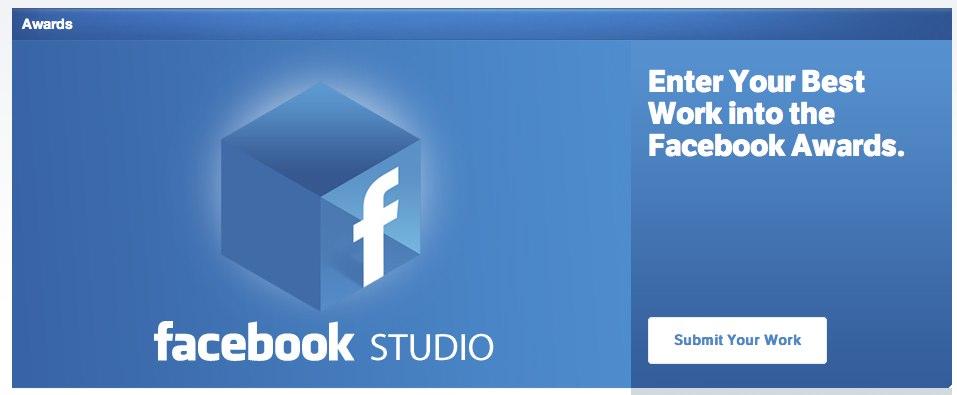 """""""Facebook Studio"""" – Facebook launcht eigene Seite für Agenturen inklusive den """"Facebook Awards"""""""