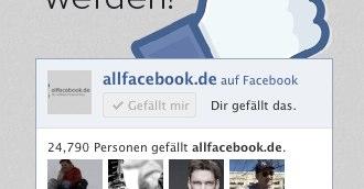 """""""Gefällt mir"""" / Like Button: Kleines Update"""