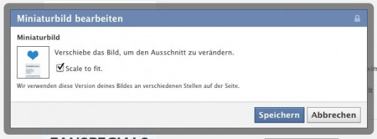 """Neue """"Scale to Fit"""" Option"""