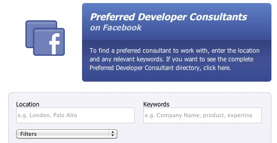 Deutschland hat nur drei Facebook Prefered Developer Consultants?