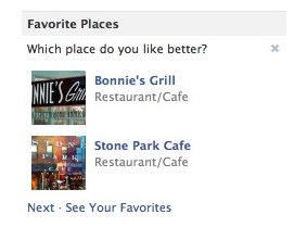 Neues Feature: Favorite Places
