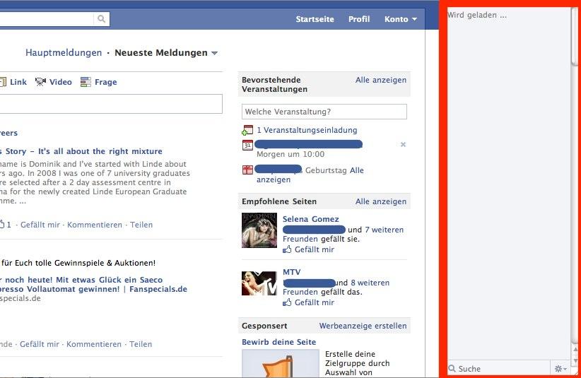 Der neue Facebook Chat erregt die Gemüter